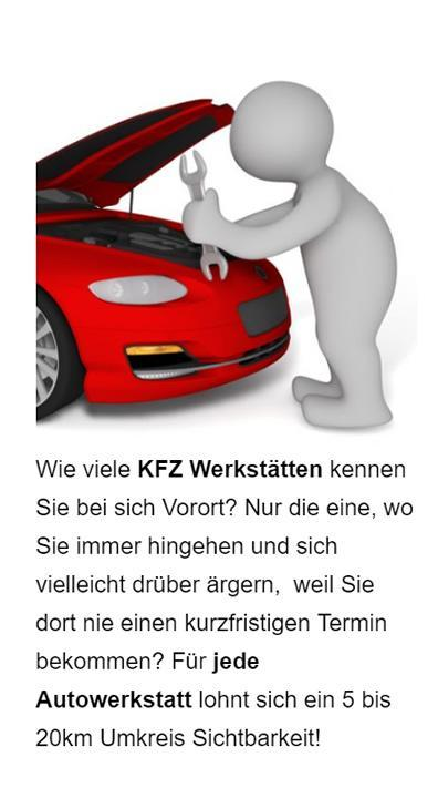 Autowerkstatt Online Marketing in  Lehrensteinsfeld