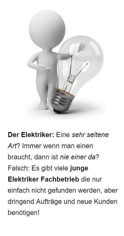 Elektriker Google Anzeigen in  Langensendelbach