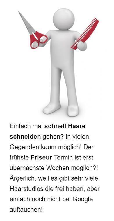 Friseur Suchmaschinenmarketing für  Deutschland