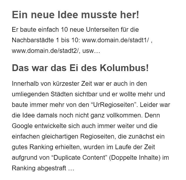 Googleoptimierung in 24321 Lütjenburg