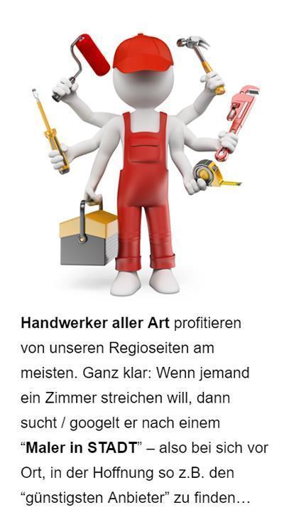 SEO für Handwerker für 33415 Verl