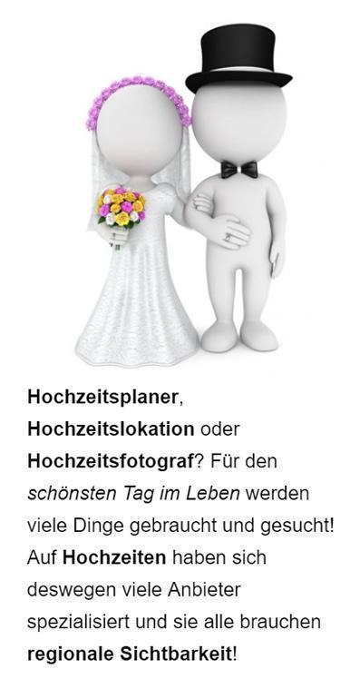 Hochzeitsservice Google Werbung aus 91094 Langensendelbach