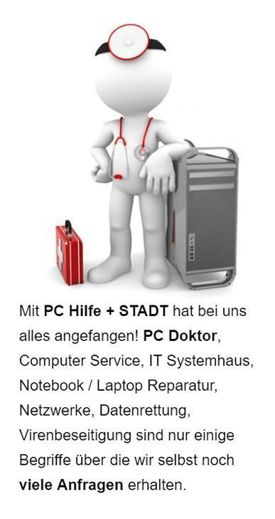 PC, Computer IT-Service SEO aus  Hamburg