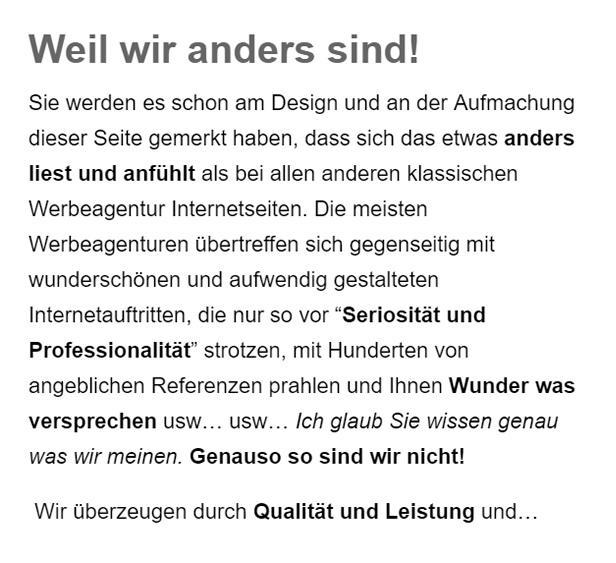 Internetmarketing aus  Wüstheuterode