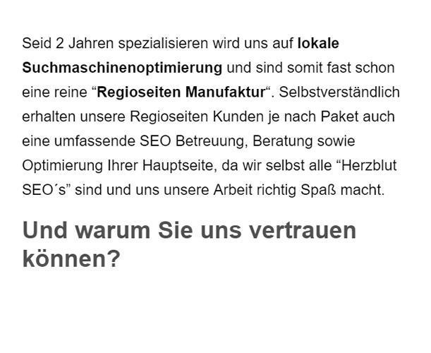 SEO-Beratung für  Deutschland