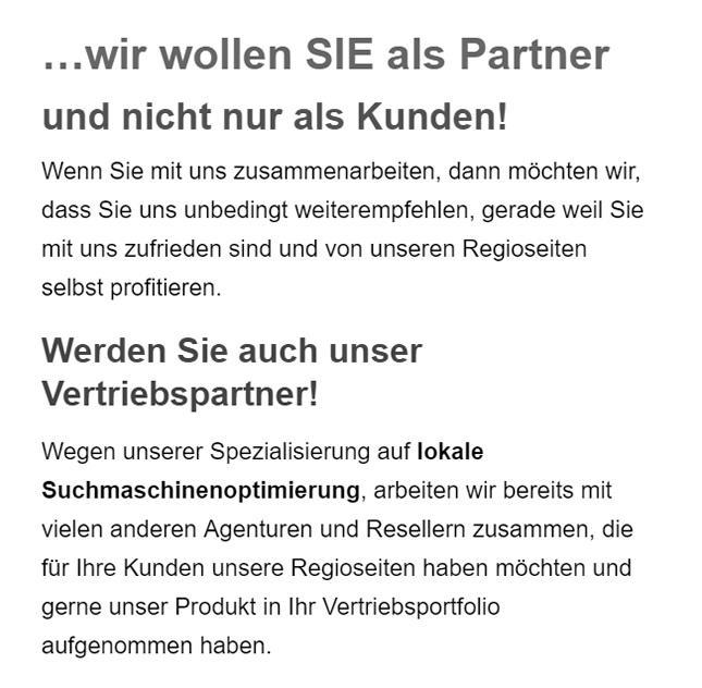 SEO Vertriebspartner in  Güstrow