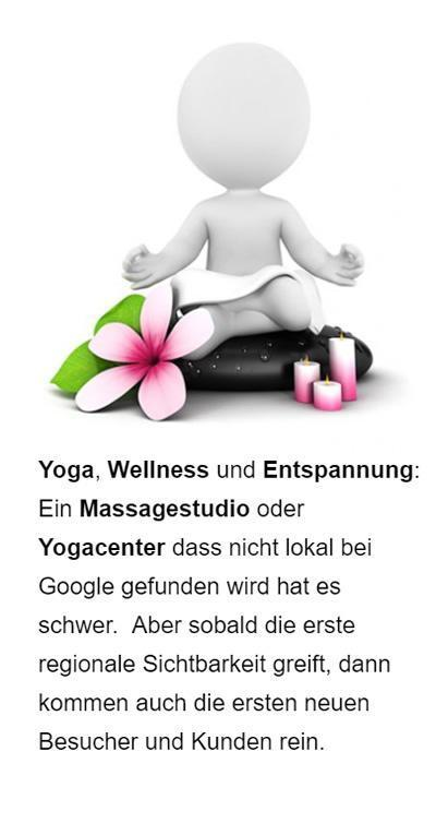 Yoga Wellness Online Marketing für  Bayern