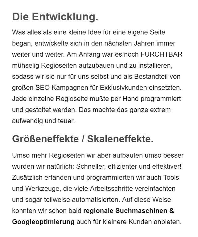 Günstige Suchmaschinenoptimierung für 91094 Langensendelbach