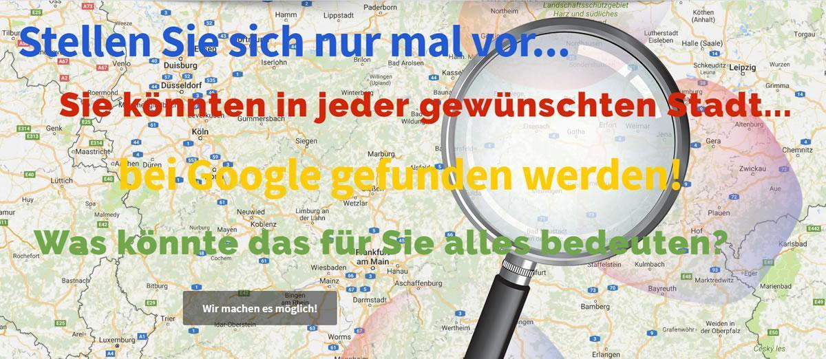 Regioseiten Thüringen - Onlinemarketing Agentur für lokale Googleoptimierung